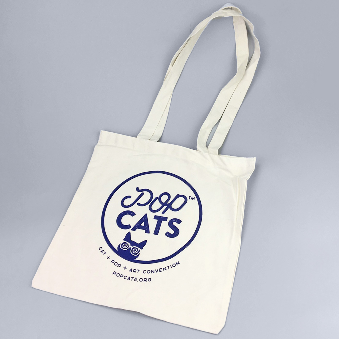 Natural Tote Bag - POP Cats™ - Cat 7593f7c9338a5